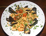 Seafood and Pasta, Made in Italy Restaurant, Chelsea, London, Great Britain, Europe