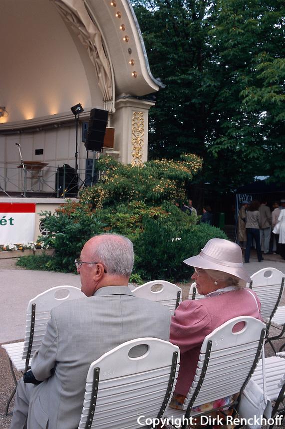Deutschland, Baden-Württemberg, Kurkonzert in Baden-Baden