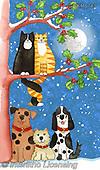 Kate, CHRISTMAS ANIMALS, WEIHNACHTEN TIERE, NAVIDAD ANIMALES, paintings+++++,GBKM743,#xa#