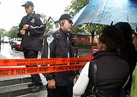 FILE - Aftermath of the Dawson school gunshooting  September 2OO7.<br /> <br /> <br /> Photo : Robert Gallbraith<br />  - Agence Quebec Presse