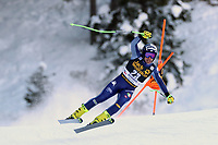 19th December 2020; Saslong, Val Gardena, Tyrol, Italy; International Ski Federation Alpine Ski World Cup, 2nd Men's Downhill, Val Gardena; Matteo Marsaglia (ITA)