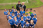 St Johnstone v Motherwell.....19.05.13      SPL.Supersaints present Murray Davidson with ther Player of the Year Award.Picture by Graeme Hart..Copyright Perthshire Picture Agency.Tel: 01738 623350  Mobile: 07990 594431