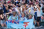 England vs South Africa during their Pool A match as part of the HSBC Hong Kong Rugby Sevens 2017 on 07 April 2017 in Hong Kong Stadium, Hong Kong, China. Photo by Marcio Rodrigo Machado / Power Sport Images