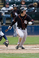 June 8, 2008: Fresno Grizzlies' Clay Timpner at-bat during a Pacific Coast League game against the Tacoma Rainiers at Cheney Stadium in Tacoma, Washington.
