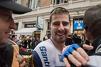 Peter Sagan (SVK/Bora-Hansgrohe) crowns himself World Champion for the 3rd (successive) time <br /> <br /> Men Elite Road Race<br /> <br /> UCI 2017 Road World Championships - Bergen/Norway