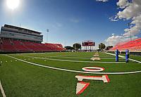 Jun. 13, 2009; Las Vegas, NV, USA; General view of the field during the United Football League workout at Sam Boyd Stadium. Mandatory Credit: Mark J. Rebilas-