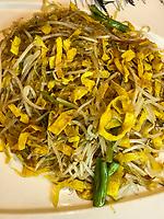 Yangzhou, Jiangsu, China.  Broadbean Noodles.