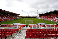 10th October 2020; The County Ground, Swindon, Wiltshire, England; English Football League One; Swindon Town versus AFC Wimbledon; Swindon Town v AFC Wimbledon played behind closed door without fans due to the Coronavirus