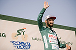 Red Jersey Nacer Bouhanni (FRA) Team Arkea-Samsic wins Stage 4 and takes over the race leaders Green Jersey of the Saudi Tour 2020 running 137km from Wadi Namar Park to Al Muzahimiyah King Saud University, Saudi Arabia. 7th February 2020. <br /> Picture: ASO/Pauline Ballet | Cyclefile<br /> All photos usage must carry mandatory copyright credit (© Cyclefile | ASO/Pauline Ballet)