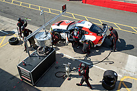 Driver and tire change in qualifying for John Ferguson & Scott McKenna, Toyota GR Supra GT4, Toyota GAZOO Racing UK during the British GT & F3 Championship on 10th July 2021