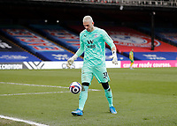 13th March 2021; Selhurst Park, London, England; English Premier League Football, Crystal Palace versus West Bromwich Albion;  Goalkeeper Vicente Guaita of Crystal Palace
