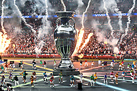 11th July 2021; Wembley Stadium, London, England; 2020 European Football Championships Final England versus Italy; The game opening ceremonies