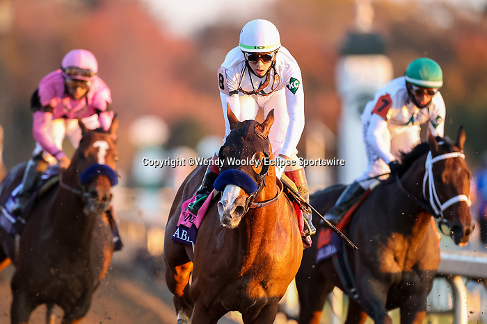 November 7, 2020 : Horses race in the Longines Classic on Breeders' Cup Championship Saturday at Keeneland Race Course in Lexington, Kentucky on November 7, 2020. Wendy Wooley/Breeders' Cup/Eclipse Sportswire/CSM