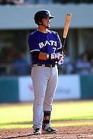 Eugenio Suarez (7) of the Louisville Bats  during the game versus the Pawtucket Red Sox at McCoy Stadium on May 30, 2015 in Pawtucket, Rhode Island.<br />
