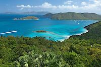View of the north shore from<br /> Hakuna Matata<br /> Villa in Estate Catherineburg<br /> Virgin Islands National Park<br /> U.S. Virgin Islands