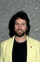Pierre Bertrand<br />  au Telethon, Fevrier 1985<br /> <br /> <br /> PHOTO : Agence Quebec Presse