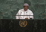 Opening of GA 72 2017 PM<br /> <br /> His Excellency Adama Barrow, President of the Republic of the Gambia