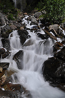 Spray Falls, Mt. Rainier National Park, Washington, US