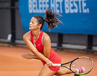 Amstelveen, Netherlands, 1 August 2020, NTC, National Tennis Center, National Tennis Championships, Women's Doubles final: Arianne Hartono (NED)<br /> Photo: Henk Koster/tennisimages.com