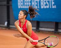 Amstelveen, Netherlands, 1 August 2020, NTC, National Tennis Center, National Tennis Championships, Women's Doubles final: Arianne Hartono (NED)<br /> Photo: Henk Koster/tennisimages.com