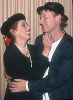 Shelley Duvall and husband 1992<br /> Photo By John Barrett/PHOTOlink