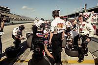 Michael Andretti, #6, Marlboro Grand Prix of Miami, CART race, March 26, 2000.  (Photo by Brian Cleary/bcpix.com)