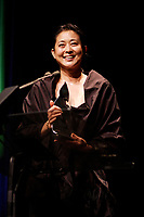 actress Ni Ping win the best Actress Award  at the Montreal World Film Festival (Festival des Films du Monde de Montreal)  2006<br /> for the Chinese movie SNOW IN THE WIND directed by Yang Yazhou.<br /> That movie also won the Special Grand Prize of the Jury<br /> Photo by Pierre Roussel / Images Distribution