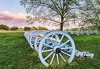 Cannons, Artillery Park, Valley Forge, Pennsylvania, USA