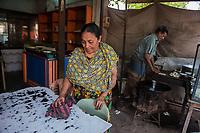 Kalpana, restaurant owner, Jhenaidah