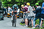Lukas Postlberger (AUT) Bora-Hansgrohe in action during Stage 5 of the 2021 Tour de France, an individual time trial running 27.2km from Change to Laval, France. 30th June 2021.  <br /> Picture: A.S.O./Charly Lopez | Cyclefile<br /> <br /> All photos usage must carry mandatory copyright credit (© Cyclefile | A.S.O./Charly Lopez)