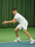 Rotterdam, The Netherlands, March 11, 2016,  TV Victoria, , NOJK 12/16 years, Christopher Lam<br /> Photo: Tennisimages/Henk Koster
