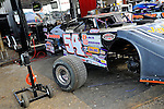 Feb 14, 2009; 4:24:46 PM; Barberville, FL, USA; World of Outlaws Late Model Series for the $10,000 to win at Volusia Speedway Park.  Mandatory Credit: (thesportswire.net)