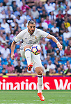 Real Madrid's player Karim Benzema during a match of La Liga Santander at Santiago Bernabeu Stadium in Madrid. September 10, Spain. 2016. (ALTERPHOTOS/BorjaB.Hojas)