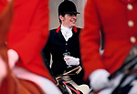 Stirrup Cup, fox hunting Britain 1980s,
