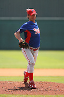 March 19th 2008:  Jamie Moyer of the Philadelphia Phillies during a Spring Training game at Al Lang Field in St. Petersburg, FL.  Photo by:  Mike Janes/Four Seam Images