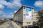 Toile Publicitaire ATHEM sur La banque Postale de Marseille, 5 rue Mathieu Stilatti 13003 Marseille