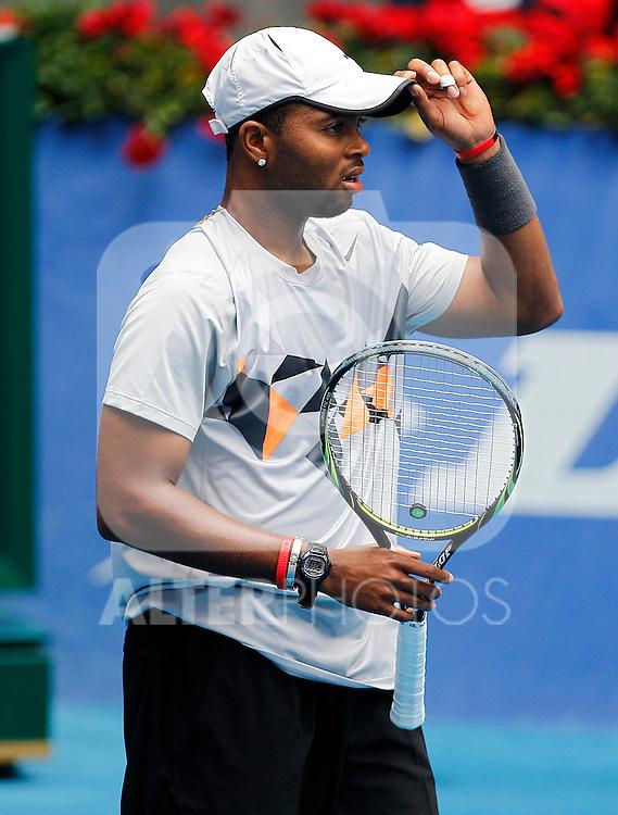 Donald Young during Madrid Open Tennis 2012 Match.May, 7, 2012(ALTERPHOTOS/ALFAQUI/Acero)