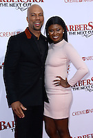 Common + daughter Omoye @ the premiere of 'Barber Shop The Next Cut' held @ the Chinese theatre.<br /> April 6, 2016