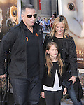 Anthony Lapaglia & family at The Warner Bros. World Premiere of Legend of the Guardians: The Owls of Ga'Hoole held at The Grauman's Chinese Theatre in Hollywood, California on September 19,2010                                                                               © 2010 Hollywood Press Agency
