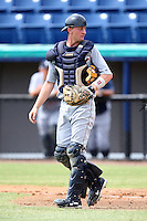 October 5, 2009:  Catcher Eric Roof of the Detroit Tigers organization during an Instructional League game at Space Coast Stadium in Viera, FL.  Roof was selected in the 18th round of the 2009 MLB Draft; he's the son of ex-major league player Gene Roof, nephew of ex-major league player and coach Phil Roof, brother of Tigers minor leaguer Shawn Roof, and Michigan States Jonathan Roof.  Photo by:  Mike Janes/Four Seam Images