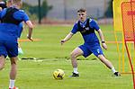 St Johnstone Pre-Season Training...28.06.21<br />Jordon Northcott pictured during pre-season training<br />Picture by Graeme Hart.<br />Copyright Perthshire Picture Agency<br />Tel: 01738 623350  Mobile: 07990 594431
