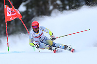 20th December 2020; Alta Badia, South-Tyrol, Italy; International Ski Federation World Cup Alpine Skiing, Giant Slalom; Leif Haugen (NOR)