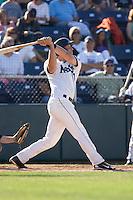 July 18, 2010: Everett AquaSox's Evan Sharpley (11) at-bat during a Northwest League game against the Eugene Emeralds at Everett Memorial Stadium in Everett, Washington.