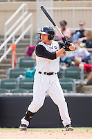 Drew Lee #11 of the Kannapolis Intimidators at bat against the Lexington Legends at Fieldcrest Cannon Stadium on May 11, 2011 in Kannapolis, North Carolina.   Photo by Brian Westerholt / Four Seam Images