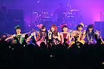 Carly Rae Jepsen, Z/Momoiro Clover Z, Jun 22, 2013 : MTV VMAJ (VIDEO MUSIC AWARDS JAPAN) 2013 at Makuhari Messe in Chiba, Japan. (Photo by AFLO)