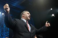 Daniel Breton<br /> , candidat Pequiste (Parti Quebecois) elu depute dans Saint-Marie Saint Jacques lors de l'electiion provinciale du 4 septembre 2012. Photo prise au Metropolis le 4 septembre<br /> <br /> <br /> PHOTO :  Agence Quebec Presse <br /> <br /> <br /> <br /> PHOTO :  Agence Quebec Presse