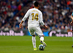 Real Madrid CF's Carlos H. Casemiro   during the Spanish La Liga match round 20 between Real Madrid and Granada CF at Santiago Bernabeu Stadium in Madrid, Spain