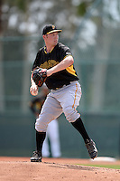 Pittsburgh Pirates pitcher Adrian Sampson (82) during an Instructional League intersquad scrimmage on September 29, 2014 at the Pirate City in Bradenton, Florida.  (Mike Janes/Four Seam Images)