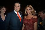 MANFRED E VITTORIA WINDISCH GRAETZ<br /> INAUGURAZIONE PALAZZO FENDI ROMA 2005