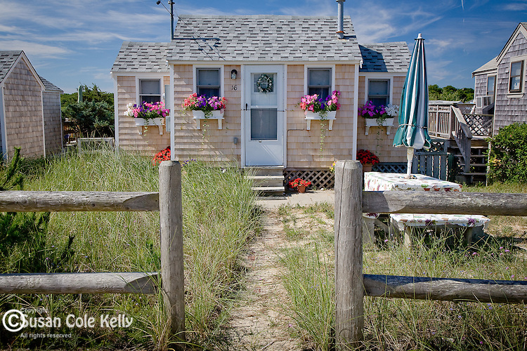 Cottage at East Sandwich Beach, Sandwich, Cape Cod, MA, USA